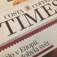 Photo taken at Costa Coffee by Tomáš B. M. on 4/17/2013
