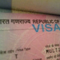 Photo taken at Indian Visa Application Centre by Outlet H. on 11/25/2013