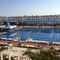 Photo taken at Marco Polo RIU Hotel Hammamet by Didier L. on 6/8/2013