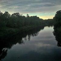 Photo taken at Millennium Bridge by Mark H. on 6/7/2013