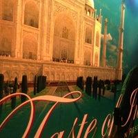 Photo taken at Taste of India by Matthias V. on 11/5/2012