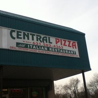 Photo taken at Central Pizza by Erik N. on 2/7/2013