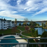 Photo taken at The Osthoff Resort by Patrick O. on 11/2/2015