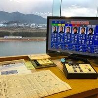 Photo taken at Boat Race Wakamatsu by gomacyan55 on 2/10/2017