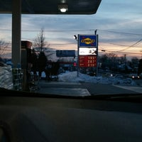 Photo taken at Sunoco Gas Station by Gregory C. on 2/7/2015