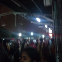 Photo taken at Platform 9 @ Bangalore City Junction by Guillermo C. on 10/25/2012
