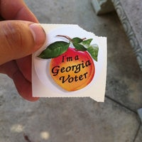 Photo taken at Rockdale County Board of Elections by Andrew C. on 10/19/2012