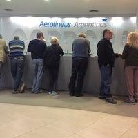 Photo taken at Aerolineas Argentinas by Glenn V. on 8/20/2013