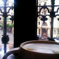 Photo taken at Starbucks Avda Constitución 11 by Angel A. on 11/4/2012