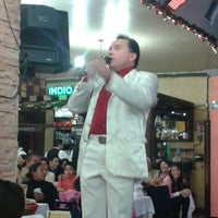 Photo taken at el lugar del mariachi aragon by Izzie B. on 12/25/2013