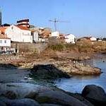 Photo taken at Playa da Ghavoteira by Ruth F. on 11/6/2012