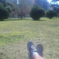 Photo taken at Parque Urquiza by Dani on 9/19/2013