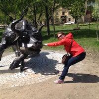 Photo taken at Какой-то Парк В Хабаровске by Olga P. on 5/18/2014
