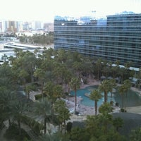 Photo taken at Casino Tower at Hard Rock Hotel & Casino by Chris E. on 1/28/2013