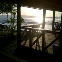 Photo taken at Paradise Surf Camp by Dinda D. on 8/11/2013