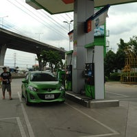 Photo taken at Bangchak Gas Station by Ty W. on 6/8/2013