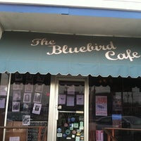 Photo taken at The Bluebird Cafe by larry m. on 3/30/2013