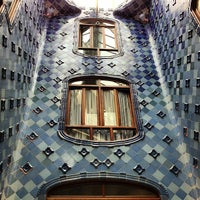Photo taken at Casa Batlló by Nico K. on 7/24/2013