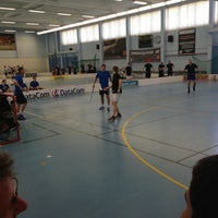 Photo taken at Stockholm Innebandy Center by Pascal S. on 4/26/2013