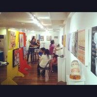 Photo taken at LRI Design Plaza by Kim T. on 11/24/2012
