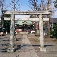 Photo taken at 本多八幡神社 by Akira H. on 3/29/2016