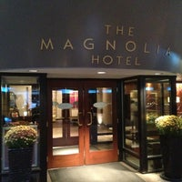 Photo taken at Magnolia Hotel by David B. on 11/10/2012