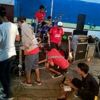 Photo taken at GOR P Siantar by A Azryna Zahra H. on 8/24/2013