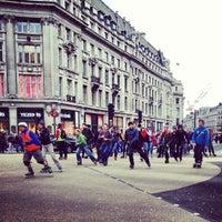 Photo taken at Oxford Street by Maggi M. on 3/10/2013