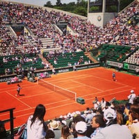 Photo taken at Court Suzanne Lenglen by Anssi N. on 6/4/2013