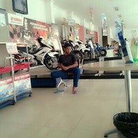 Photo taken at Sentral Yamaha Jember by Erry E. on 11/6/2013