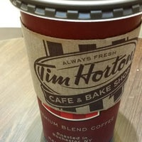 Photo taken at Tim Hortons by Ali A. on 12/19/2014