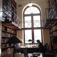Photo taken at Avery Architectural & Fine Arts Library by Rashid D. on 10/2/2013