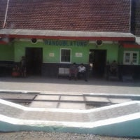 Photo taken at Stasiun Randublatung by Wiwie K. on 11/28/2012