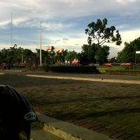 Photo taken at Alun - Alun Klaten by Alloysiuz W. on 12/19/2012