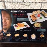 Снимок сделан в Sushi City пользователем КаринА🍒 Е. 3/14/2014
