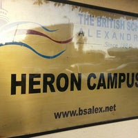 Photo taken at Heron Campus, British School of Alexandria by Peter A. on 9/18/2013