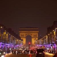 Photo taken at Avenue des Champs-Élysées by Paris on 11/22/2013