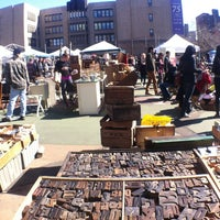 Photo taken at Brooklyn Flea - Fort Greene by Sam H. on 4/6/2013