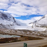 Photo taken at Athabasca Glacier (Trailhead to) by navyblue on 10/2/2013