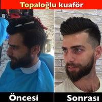 Photo taken at Topaloğlu kuaför salonu by ibrahim T. on 8/30/2016