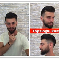 Photo taken at Topaloğlu kuaför salonu by ibrahim T. on 8/23/2016