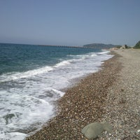 Photo taken at Filyos Sahil by Ercan Ö. on 6/29/2013
