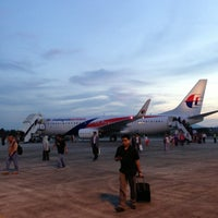 Photo taken at Sultan Ahmad Shah Airport (KUA) by Samuel T. on 5/17/2013