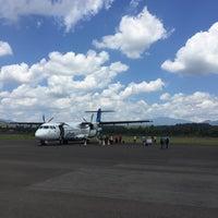 Photo taken at Sultan Muhammad Kaharuddin airport Sumbawa Besar by Lily P. on 9/7/2016