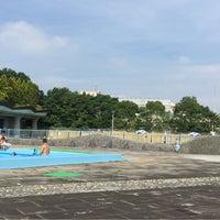 Photo taken at 山崎公園プール by Hiroyuki T. on 7/25/2015