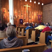Photo taken at Evangelical Lutheran Church of Mt. Horeb by David G. on 3/8/2014