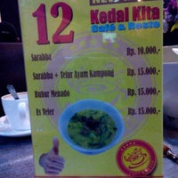 Photo taken at Kedai Kita by Julie M. on 2/10/2014