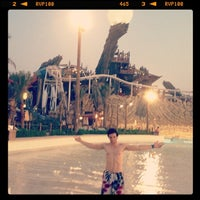 Photo taken at Yas Waterworld by Laith Z. on 9/18/2013