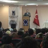 Photo taken at İstanbul Aydın Üniversitesi Hazırlık Okulu by Turgut T. on 2/25/2013