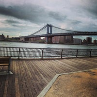 Photo taken at Brooklyn Bridge Park by Chris W. on 5/8/2013